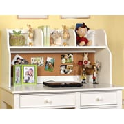 Hokku Designs Bedford 24'' H x 42.13'' W Desk Hutch; White