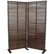 Moe's Home Collection 72'' x 60'' Dasha 2 Panel Room Divider; Natural