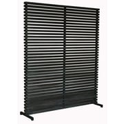 Moe's Home Collection 65'' x 60'' Dallin 1 Panel Room Divider; Black