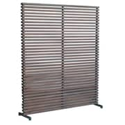 Moe's Home Collection 65'' x 60'' Dallin 1 Panel Room Divider; Brown