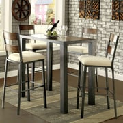 Hokku Designs Alleso 5 Piece Pub Table Set