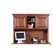 Forest Designs Traditional Desk Hutch; Black Alder