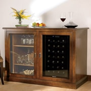 Wine Enthusiast Companies Siena 28 Bottle Single Zone Freestanding Wine Refrigerator; Walnut