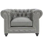 TOV Durango Leather Club Chair
