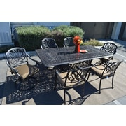 K B Patio Sicily 7 Piece Patio Set by