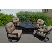 K B Patio Newport 5 Piece Patio Set by