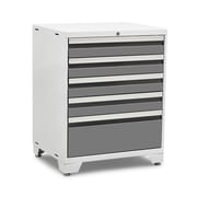 NewAge Products Pro 3.0 Series 5 Drawer Tool Cabinet; White