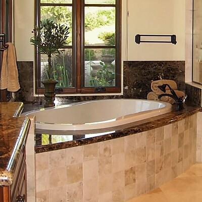 Hydro Systems Designer Savannah 66'' x 44'' Soaking Bathtub; Biscuit WYF078278637276