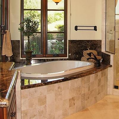 Hydro Systems Designer Savannah 77'' x 44'' Soaking Bathtub; Biscuit WYF078278637294