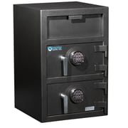 Protex Safe Co. Double-Door Front Loading Electronic Lock Commercial Depository Safe