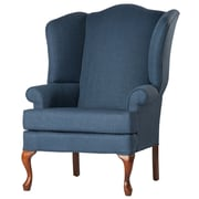 Comfort Pointe Crawford Wingback Chair; Sky