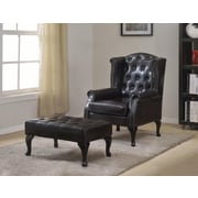 BestMasterFurniture Executive Arm Chair w/ Ottoman