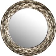 Paragon Round Waves Wall Mirror