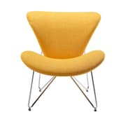 VIG Furniture Modrest Decatur Contemporary Accent Chair; Yellow