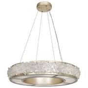 Fine Art Lamps Arctic Halo 12-Light Drum Pendant; Champagne Gold