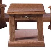 Forest Designs End Table; Honey Oak