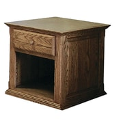 Forest Designs End Table; Spice Alder