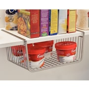 InterDesign York Lyra Kitchen Pantry Under Shelf Organizer Basket