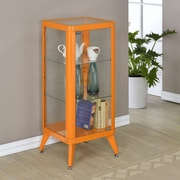 Hokku Designs Arik Cabinet; Orange