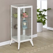 Hokku Designs Arik Cabinet; White