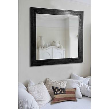 Rayne Mirrors Ava Grain Wall Mirror; 33.5'' H x 27.5'' W x 0.75'' D