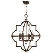 Fine Art Lamps Liaison 8 Light Foyer Pendant; Antique Rubbed Bronze
