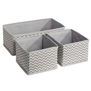 InterDesign Chevron 3 Piece Storage Organizer