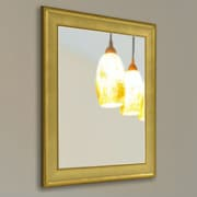Rayne Mirrors Ava Vintage Gold Mirror; 37'' H x 31'' W