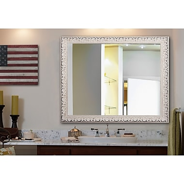 Rayne Mirrors Ava French Victorian Wall Mirror; 36'' H x 30'' W x 2'' D