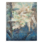 Bassett Mirror Thoroughly Modern 'Blue View' Painting Print on Canvas