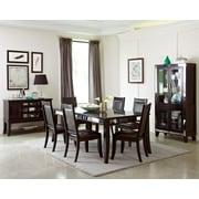 Wildon Home   Middleton Solid Veneer Curio Cabinet