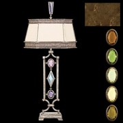 Fine Art Lamps Encased Gems 38'' H Table Lamp; Bronze