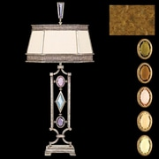 Fine Art Lamps Encased Gems 38'' Table Lamp; Gold