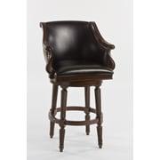Hillsdale Hepburn 30'' Swivel Bar Stool with Cushion