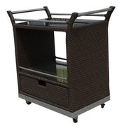 WorldWideWicker Naples Bar Cart