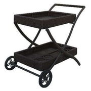 WorldWideWicker Naples Serving Cart