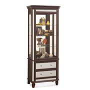 Philip Reinisch Co. Presidio Solid China Cabinet; Espresso