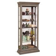 Philip Reinisch Co. Destiny Solid Curio Cabinet; Rustic Oak