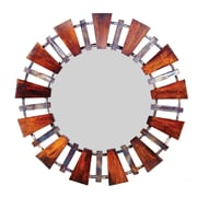 Prima Round Iron Mirror