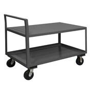 Durham Manufacturing Gauge Steel Low Deck Service Cart