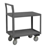 Durham Manufacturing 14 Gauge Steel Low Deck Service Cart