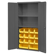 Durham Manufacturing 14 Gauge Welded Steel Flush Door Style Storage Cabinet