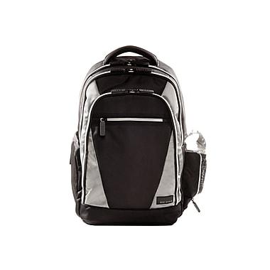 Eco Style Sports Voyage Black/Platinum Ballistic Nylon Backpack for 16.4