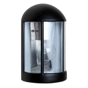 Besa Lighting Costaluz 1 Light Outdoor Wall Sconce; Black