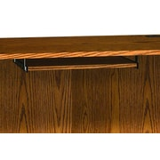 Ironwood Glacier Keyboard Shelf for CDC; Amber Ash