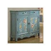 LampsPerSe 2 Door 2 Drawer Wood Cabinet