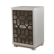 LampsPerSe Octagon Door Wood Cabinet