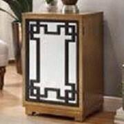 LampsPerSe Green Key Door Wood Cabinet