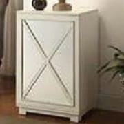 LampsPerSe Window Pane Door Wood Cabinet