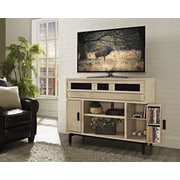 Fairfax Home Collections Blair TV Stand; Weathered Vellum